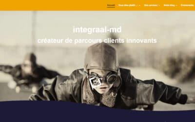 Integraal-MD : refonte de site web